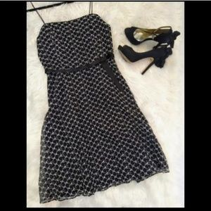 Black & White Silk Laundry By Shelli Segal